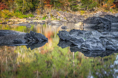 Photograph - Cossatot River Reflections by James Barber