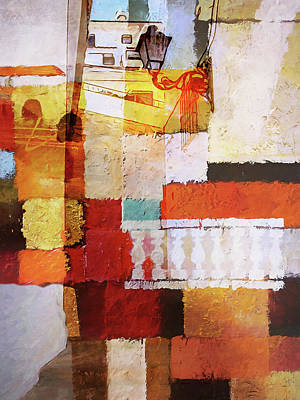 Painting - Costa Blanca Impression by Lutz Baar