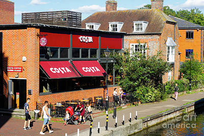 Photograph - Costa Coffee by Tom Gowanlock