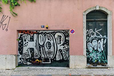 Door Photograph - Costa De Castelo by Steven Richman