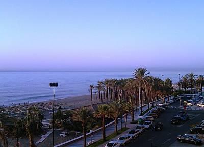 Photograph - Costa Del Sol Ocean View Spain by John Shiron
