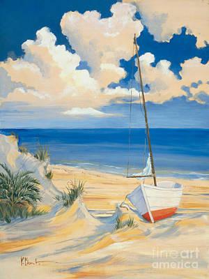 Costa Del Sol Art Print by Paul Brent