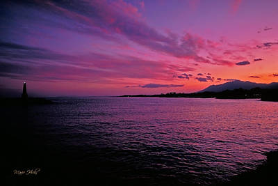 Photograph - Costa Del Sol Sunset In Marbella by Marie Hicks