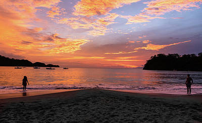 Photograph - Costa Rica Sunset by Michael Santos