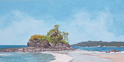 Painting - Costa Rican Coast by Robert Decker