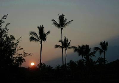 Digital Art - Costa Rican Mountain Sunset by Ellen Barron O'Reilly