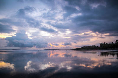 Photograph - Costa Rican Sunset by David Morefield