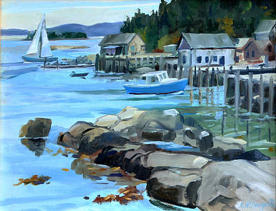 Painting - Costal Maine by Michael McDougall
