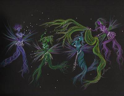 Art Print featuring the drawing Costume Malfunction by Dawn Fairies