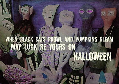 Costume Party Quote Art Print by JAMART Photography