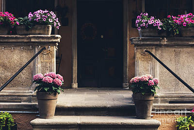 Photograph - Cosy Entrance To An Old Tenement Building In Gdansk, Poland. by Michal Bednarek