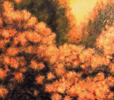 Painting - Cotinus Coggygria by Kevin Davidson