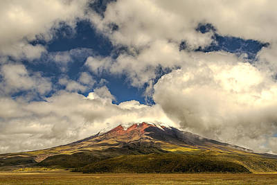 Photograph - Cotopaxi by Maria Coulson