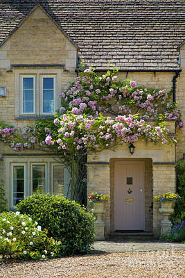 Photograph - Cotswold Home by Brian Jannsen