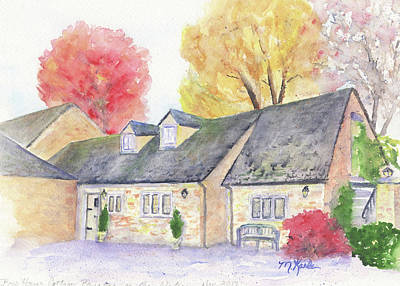 Painting - Cotswolds Cottage by Marsha Karle