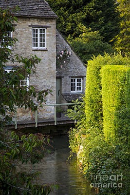 River Scenes Photograph - Cotswolds Evening by Brian Jannsen