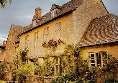 Photograph - Cotswolds House 1 by Wallaroo Images