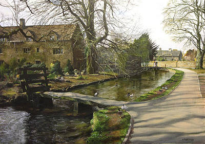 Cotswolds Scene. Art Print by Harry Robertson