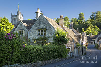 Abstract Graphics - Cotswolds Village by Brian Jannsen