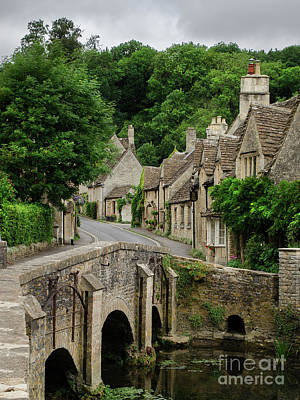 Photograph - Cotswolds Village Castle Combe by IPics Photography
