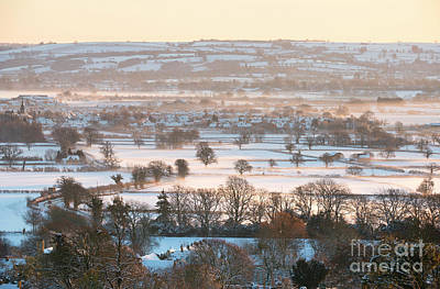 Photograph - Cotswolds Winter by Tim Gainey