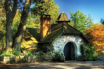 Photograph - Cottage - The Little Cottage by Mike Savad