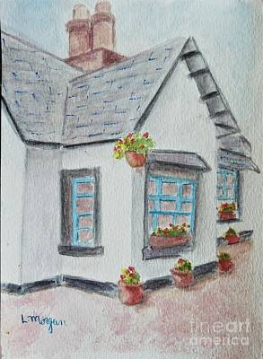 Painting - Cottage At Rancho Camulos by Laurie Morgan