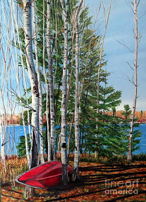Painting - Cottage Country 2 by Marilyn McNish