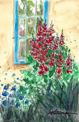 Painting - Cottage Garden No2 by Kume Bryant