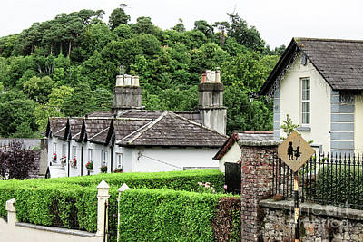 Photograph - Cottage In Enniskerry Village - Ireland  by Doc Braham
