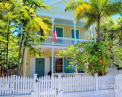 Photograph - Cottage In Old Town Key West Florida by Janette Boyd