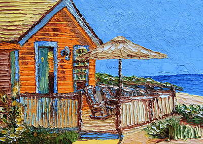 Painting - Cottage In The Keys by Chrys Wilson