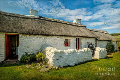 Cottage In Wales Art Print