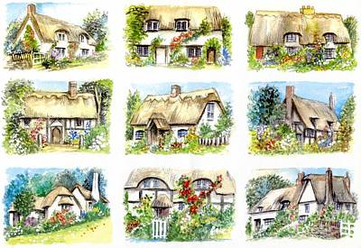 Cottage Minis Art Print by Morgan Fitzsimons