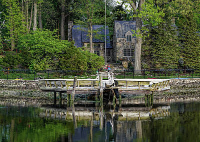 Photograph - Cottage On Saugatuck River Ct By Mike-hope by Michael Hope