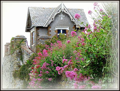 Photograph - Cottage On The Hill by Anne Gordon