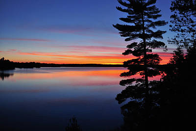 Photograph - Cottage Sunset by Keith Armstrong