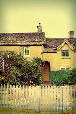 Photograph - Cottage With A Picket Fence by Jill Battaglia