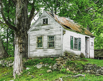 Photograph - Cottage With Character by Betty Denise