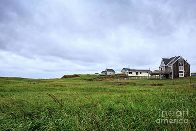 Photograph - Cottages In The Dunes Prince Edward Island by Edward Fielding