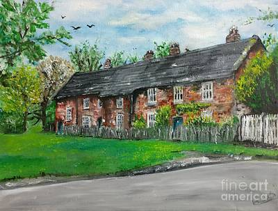 Painting - Cottages by Yoursbyshores Isabella Shores