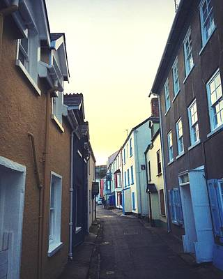 Photograph - Cottages On The Cleave In Kingsand by Steve Swindells