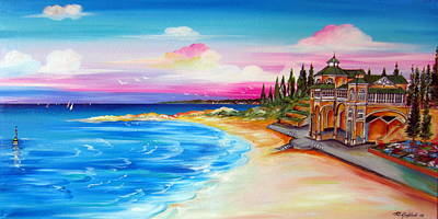 Painting - Cottesloe Beach Western Australia by Roberto Gagliardi