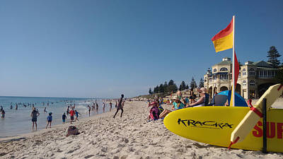 Photograph - Cottesloe Day by Oscar Moreno