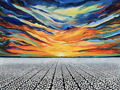 Painting - Cotton Belt by Terry  Hester