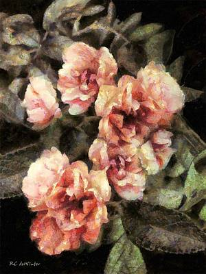Painting - Cotton Candy Cluster by RC deWinter