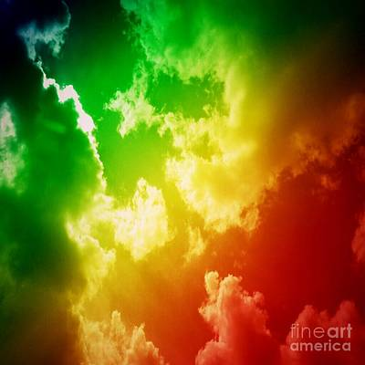 All You Need Is Love - Candy Colored Sky by Sandra Harrison