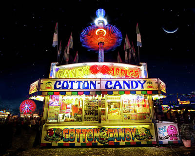 Photograph - Cotton Candy by Mark Andrew Thomas