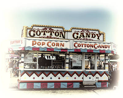 Photograph - Cotton Candy - Photography by Ann Powell