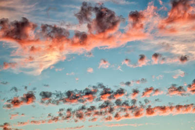 Photograph - Cotton Candy Sky by James Barber
